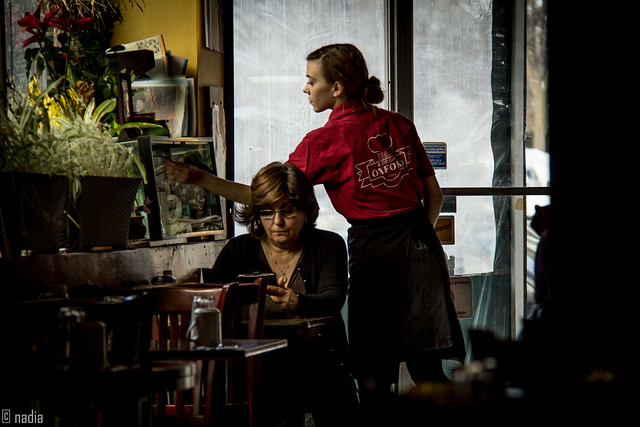 Red Shirt - Oxford Diner NDG