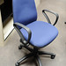 Office chair - blue swivel