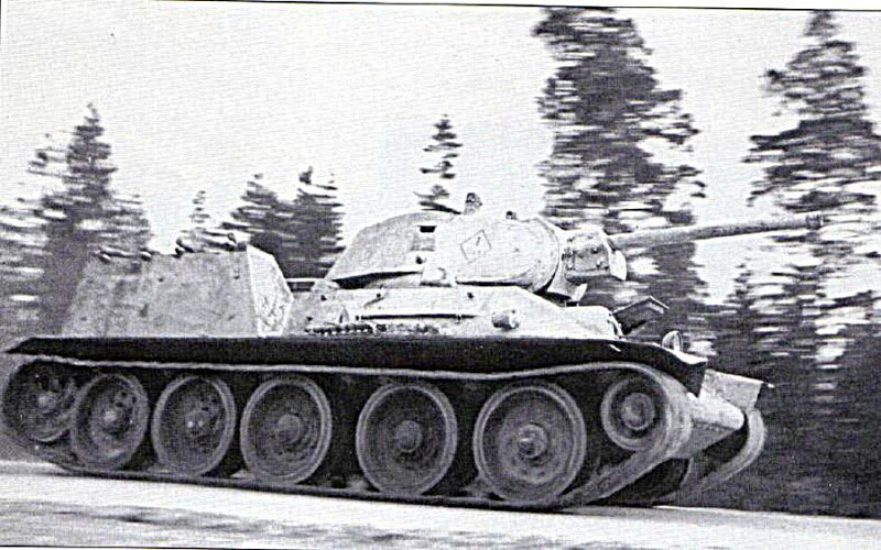 T-34 Flamethrower tank