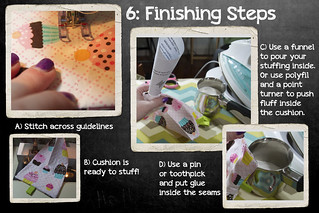 Quiltsmart Gadget Cushion Tutorial | by MagnoliaFly