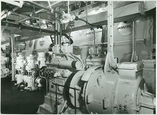 Engine room of 'St Essylt'