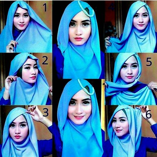 28 Tutorial Hijab Segala Suasana Kantor Kuliah Pesta Flickr