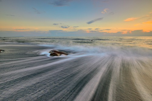 台灣 taiwan kenting 屏東 墾丁 sea waves nikon d800e afs1635mmf4 sunset landscape formosa 枋山 fangshan 戶外 海 日落