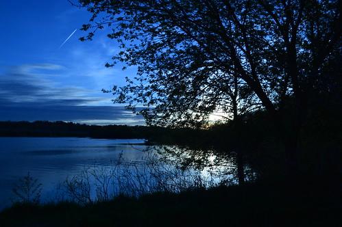 blue sunset white lake nikon balance d3200 mygearandme mygearandmepremium thesacredlifeofplants takenwithhardwork sacredlifeofplants