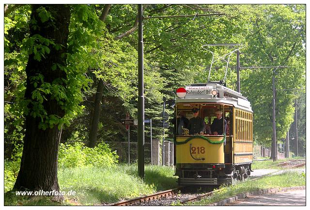 Woltersdorfer Straßenbahn - Tw 218