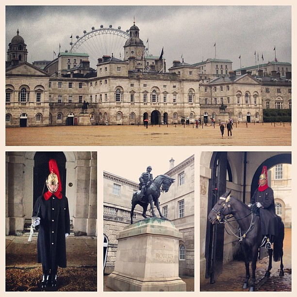 The Household Cavalry Museum in #London is a military museum that celebrates the ceremonial and operational role of the regiment. The bottom middle photo is of Field Marshal Earl Roberts (served from 1885-1904). #HorseGuards #military #cavalry