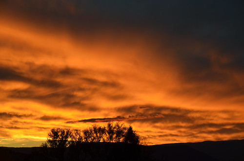 sunset night cloudy sunset102713