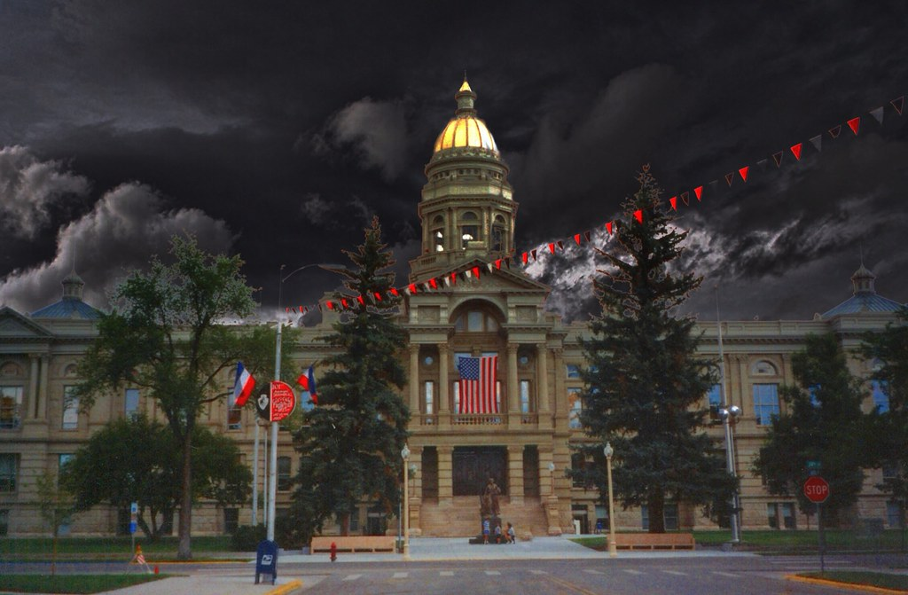 Wyoming State Capitol~ Cheyenne Wy | The Wyoming State Capit