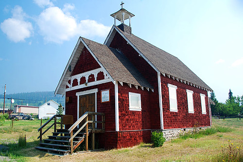 Alexis Creek Church, Alexis Creek, Chilton, BC