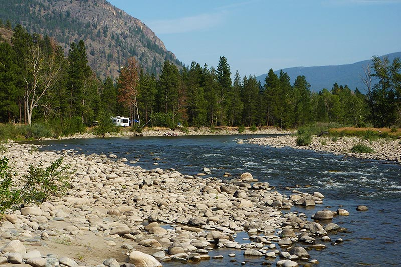 Nkwala Recreation Site, Merritt, Nicola Valley, Thompson Okanagan, British Columbia