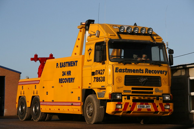 Foden Recovery Truck Eastments of Torksey E998 JHY