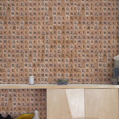 Scrabble Wallpaper Pattern