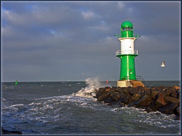 Stürmische Grüße von der Ostsee