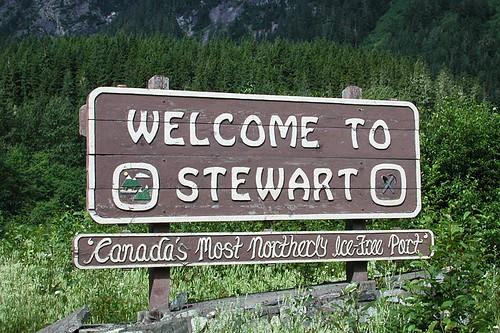 Stewart, Northern British Columbia, Canada