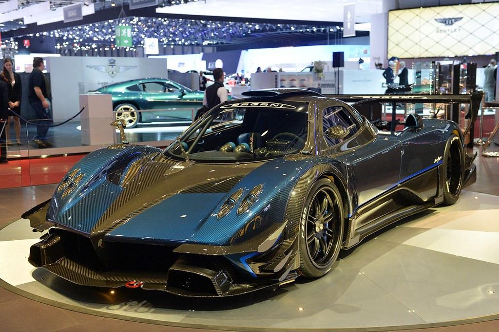 Carbon Blue Pagani Zonda Revolucion Geneva Motor Show 2014 Flickr