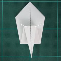 การพับกระดาษเป็นนกกระสา (Origami Pelican) 008