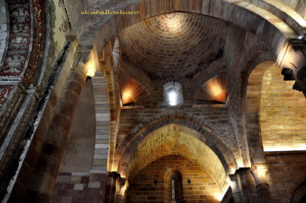 312 Interior Iglesia Monasterio Santa María De Mave P Flickr