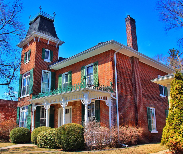Port Hope Ontario Canada ~ Heritage District ~  Walton Street ~ Queen Anne ~ Victorian House