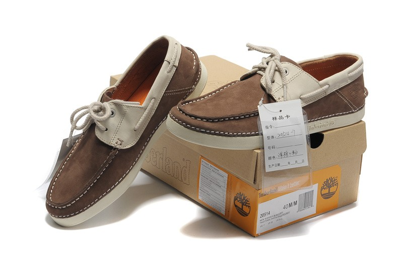 prevalent new season vivid and great in style Cheap-Timberland-Men-2-Eye-Boat-Shoes-Brown-Gray | www.timer ...