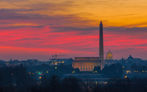 Washington DC sunrise | by Anthony Quintano