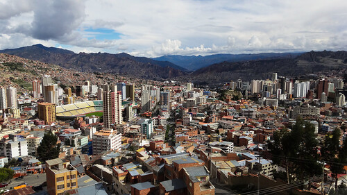 world city houses urban mountains brick architecture landscape la south paz bolivia el hills valley andes sur capitale alto lapaz highest bolivie elalto cuidad amercia 3600m