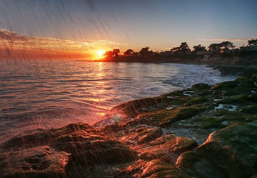 california sunset santacruz sun water raw day clear splash gush photomatix fav200 1xp watergush nex6 selp1650