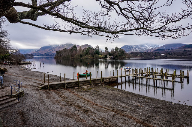 Derwentwater on a bitterly cold day in February - Explored