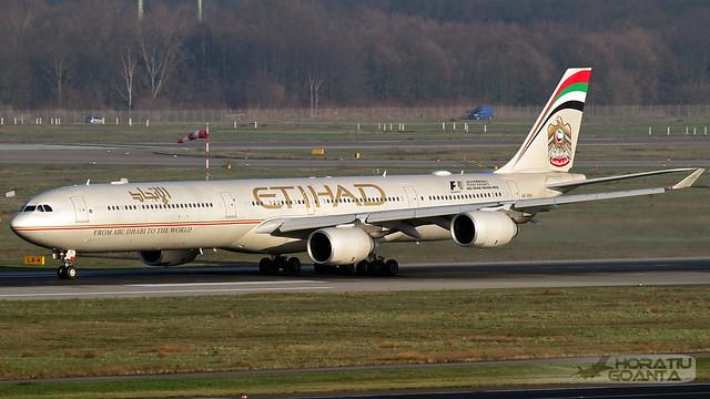 Airbus A340-642 A6-EHI Etihad Airways | Düsseldorf DUS/EDDL