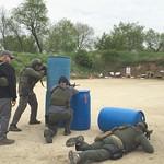June 8, 2016 - 08:50 - Three man team SWAT training at Hartland Range.Credit: Deputy Aimee Knop, McHenry County Sheriff's Office