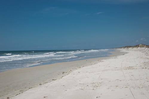 sky beach nc sand day waves northcarolina clear bearisland marc714 hammockbeach