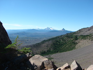 Broken Top, Mt. Bachelor, The Three Sisters, Mt. Washington and The Husband