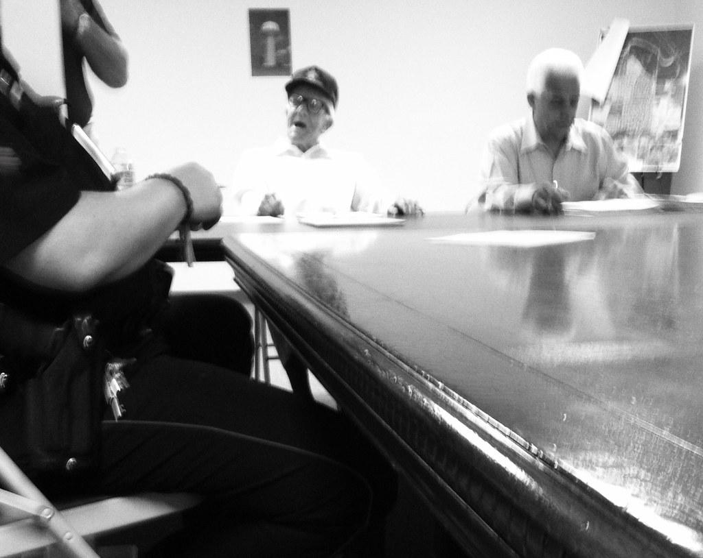 At board meeting, Kenswick Homeowners Association board me… | Flickr