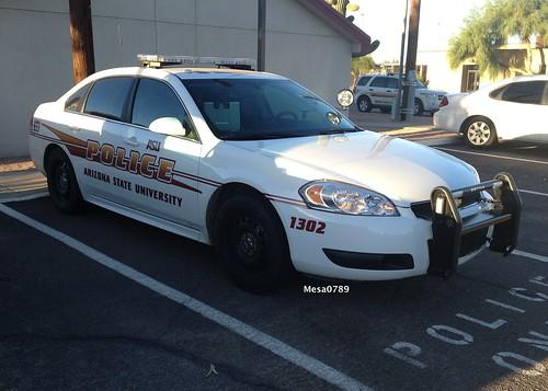 Arizona State University Police, 2013 Chevy Impala Photo