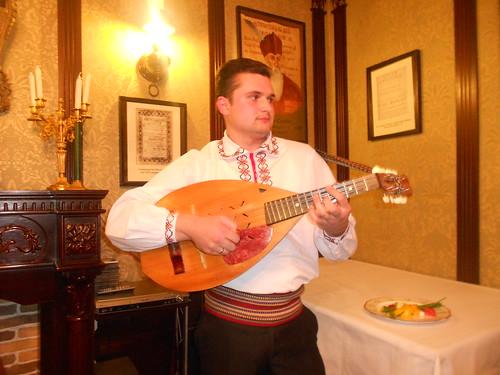 Soirée folklorique en Moldavie