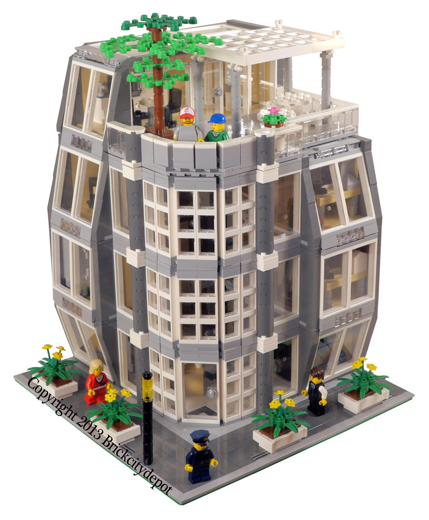 Architecture Firm - Lego Modular Building #1