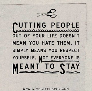 Hurt #Quotes #Love #Relationship Cutting people out of yo ...