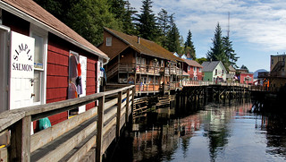 Ketchikan Creek Street Alaska. | by Bernard Spragg