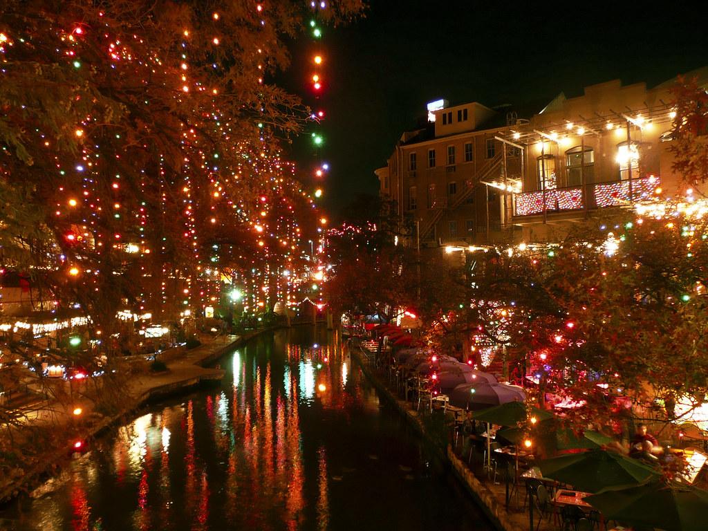 Riverwalk San Antonio Christmas.Christmas On The Riverwalk San Antonio Texas The Last Ti