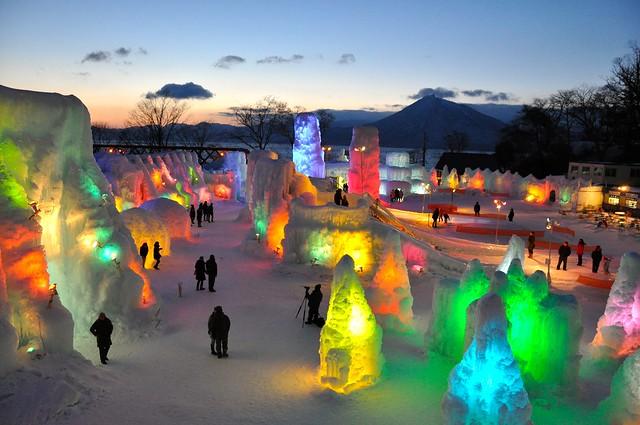 Lake Shikotsu Ice Festival 2014 - 07