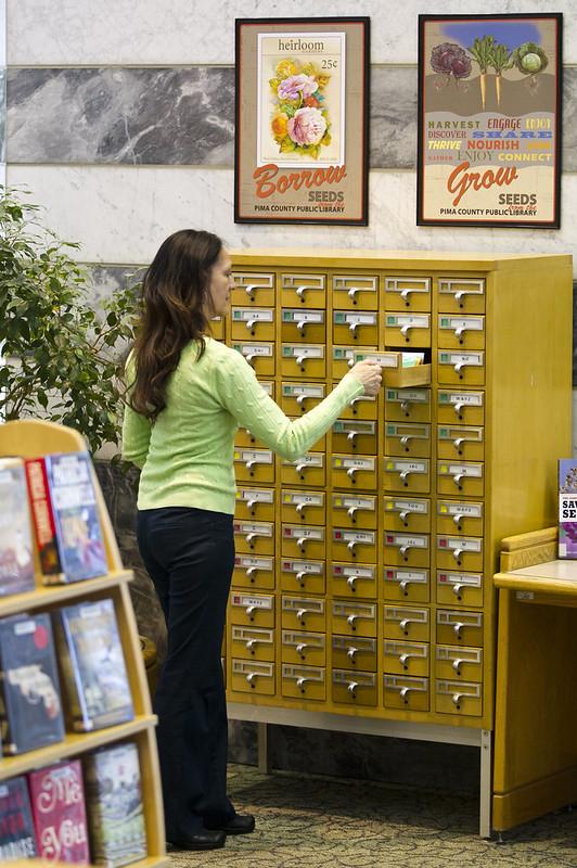 Seed Library 2013 - Joel D. Valdez Main Library