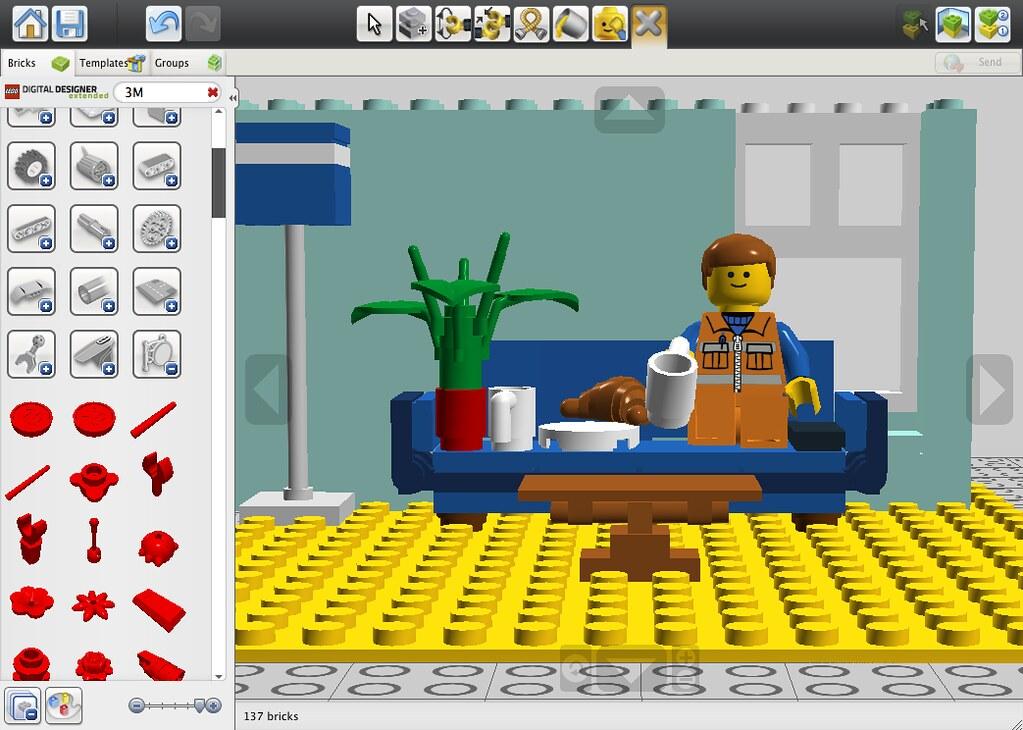 Lego Digital Designer Flickr