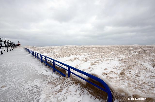 Lake Michigan Ice - Explore