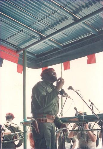 Jonas Savimbi gun address | by amaah