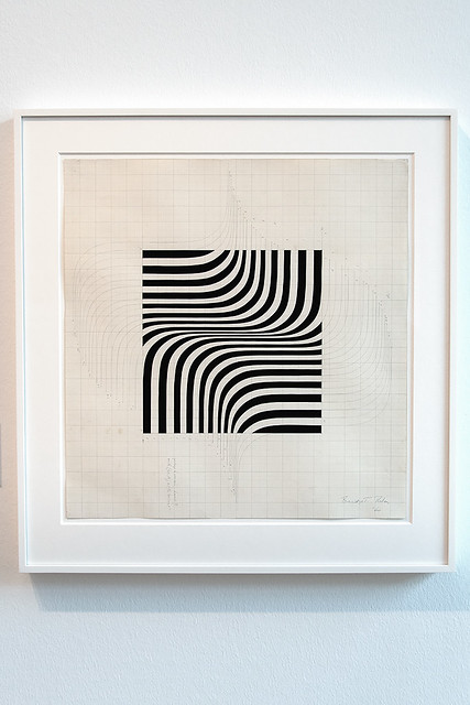 Bridget Riley - Untitled - right angle curve, 1966
