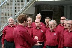 Conducting Rame Peninsula Male Voice Choir 2