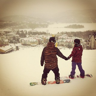 #love #couple #snowboard #quebec #tremblant @snowboardquebec @rpnormandeau
