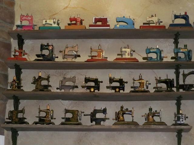 Antique Mini-Sewing Machines