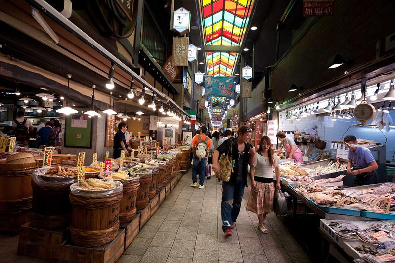 20130910_125  Nishiki Market in Kyoto Japan | 京都・錦市場