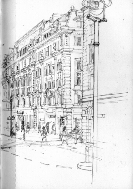 Last building on Regent Street