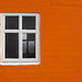 Study in Orange, White and Black by cormend